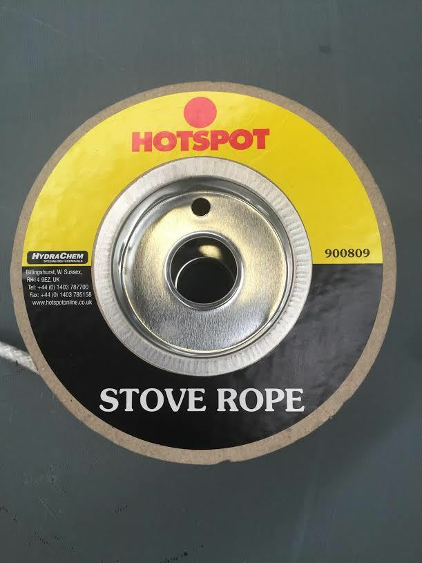 6mm quality glass fibre stove rope for sealing fires ebay for 14mm stove door rope