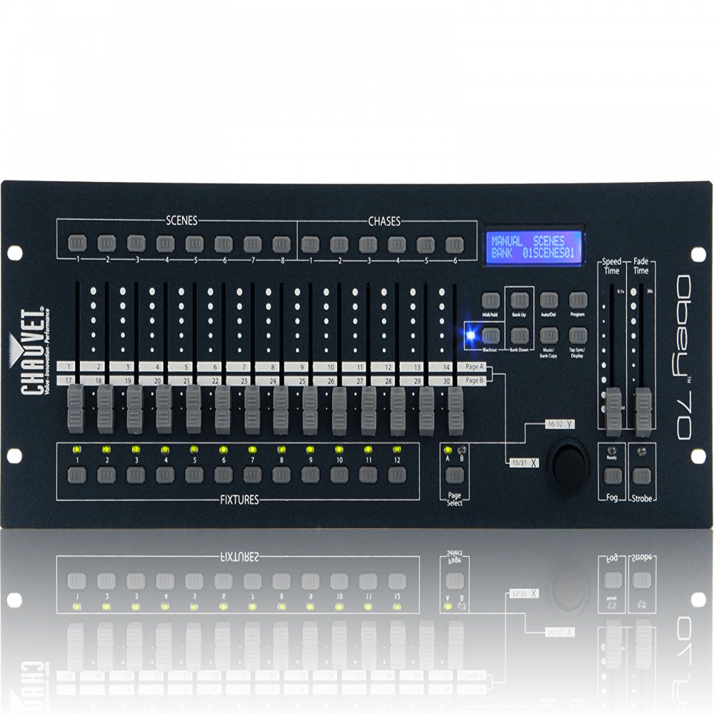 Used Chauvet Obey 70 Controller moreover 381910010085 moreover 271116753480 furthermore Obey 70 Dmx Controller 384channels 12 32 Channel 4u Webcha00115 additionally 381832648591. on chauvet obey 70 384 channel dj dmx controller