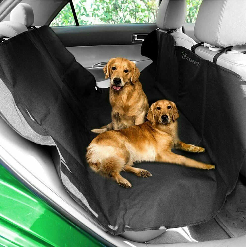Zone Tech Car Back Seat Pet Dog Safe Safety Travel Hammock