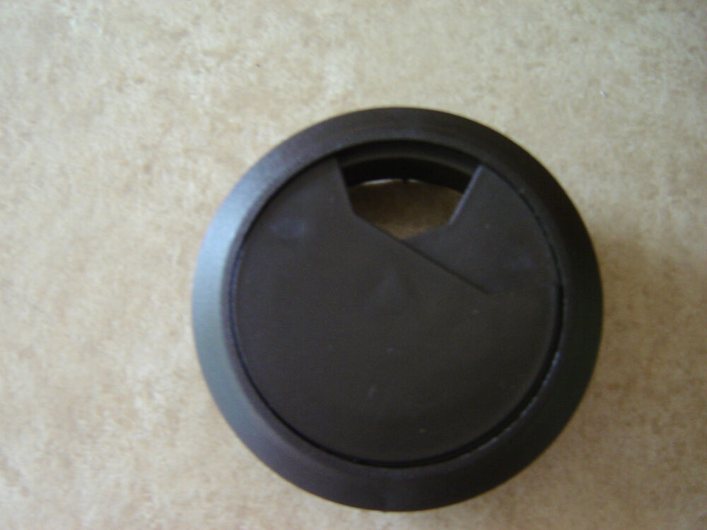 Computer Desk Table Grommet Cable Wire Hole Plastic Cover