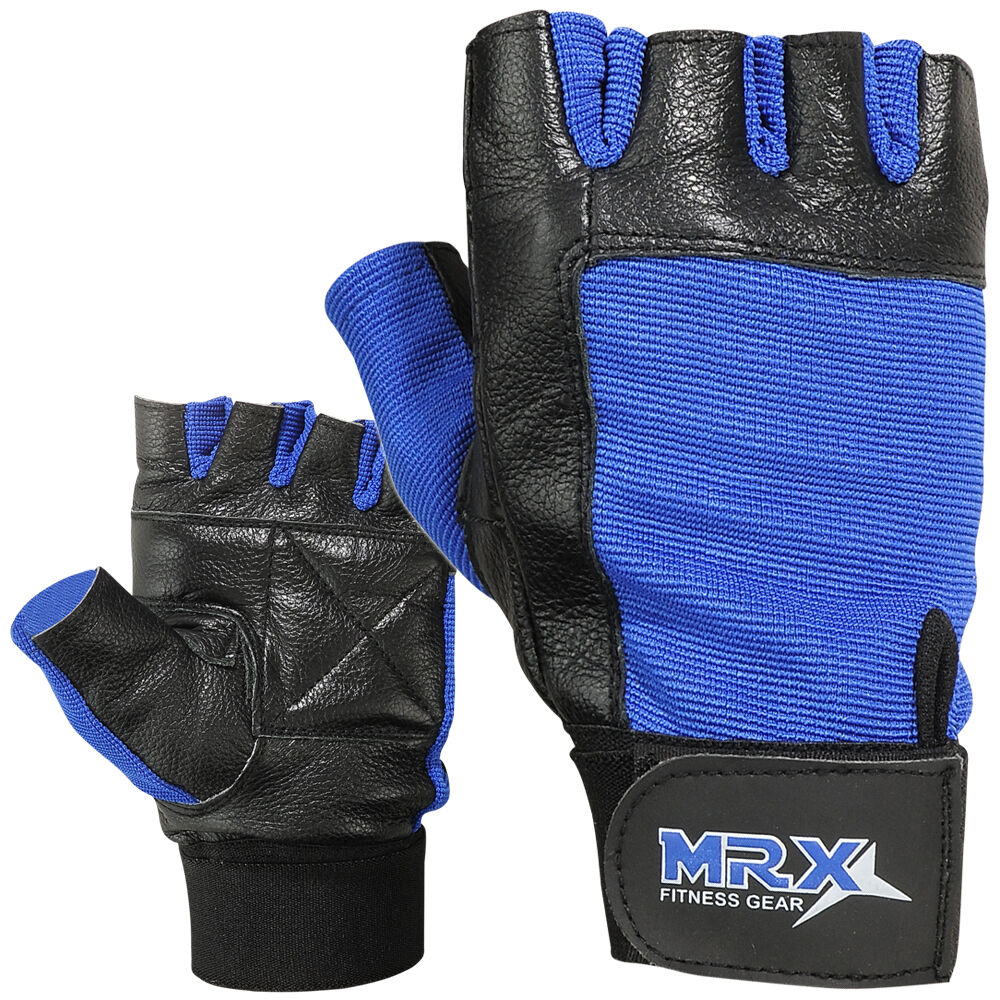 Fitness Weight Lifting Gloves: Weight Lifting Gloves Leather Fitness Glove Gym Training