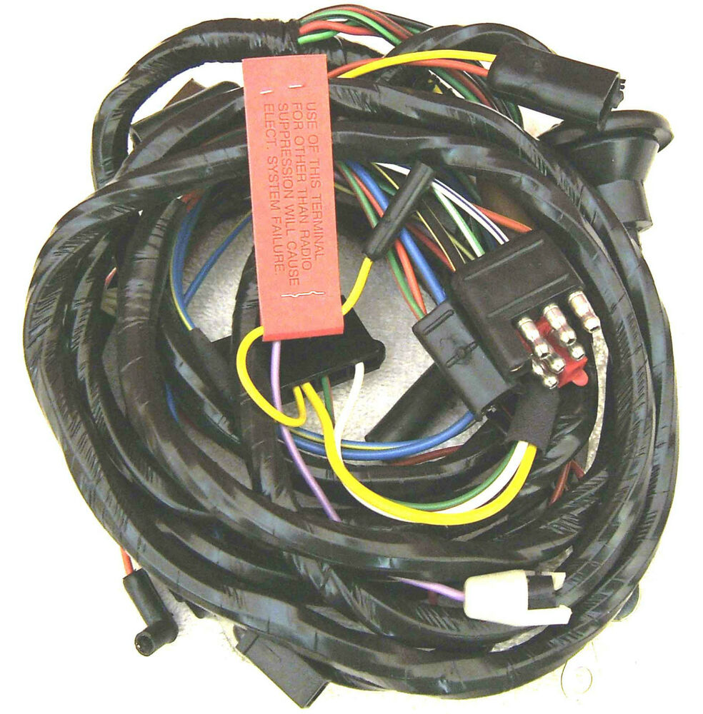 c11  1967 xr7 mercury cougar  u201cdash panel to headlight Replacement Automotive Wiring Harnesses OEM Engine Wire Harness