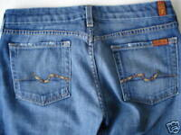 Seven for all Mankind SFAM Bootcut Blau Jeans Gr 28