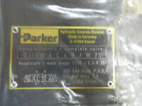 PARKER HYDRAULIC DIRECTIONAL CONTROL VALVE