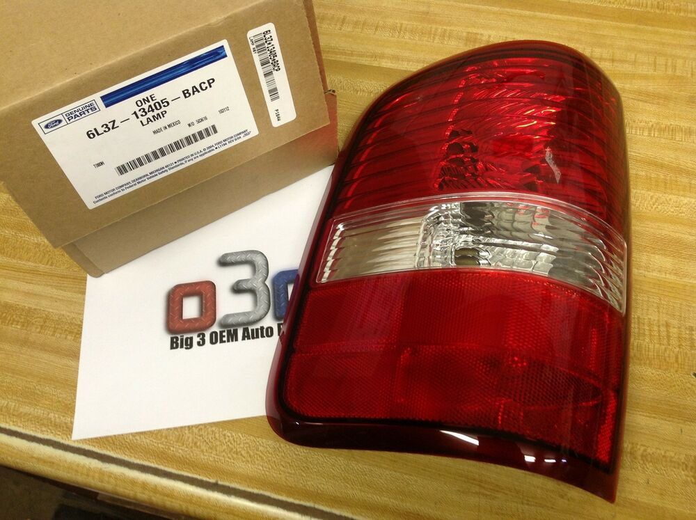 2006 2008 ford f 150 lh drivers tail lamp light assembly new oem 6l3z. Black Bedroom Furniture Sets. Home Design Ideas