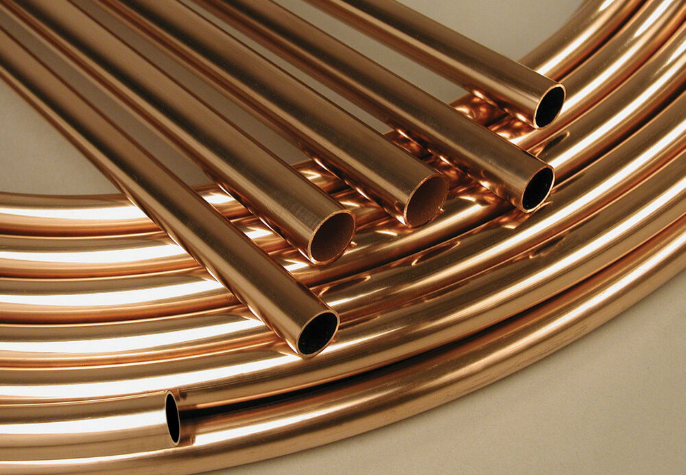 copper pipe in various sizes 8 10 15 22 and 28mm plumbing. Black Bedroom Furniture Sets. Home Design Ideas