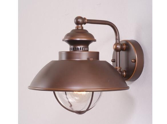Wall Lamp Milano Bronze : new vaxcel harwich outdoor wall sconce lighting lamp burnished bronze OW21501BBZ eBay