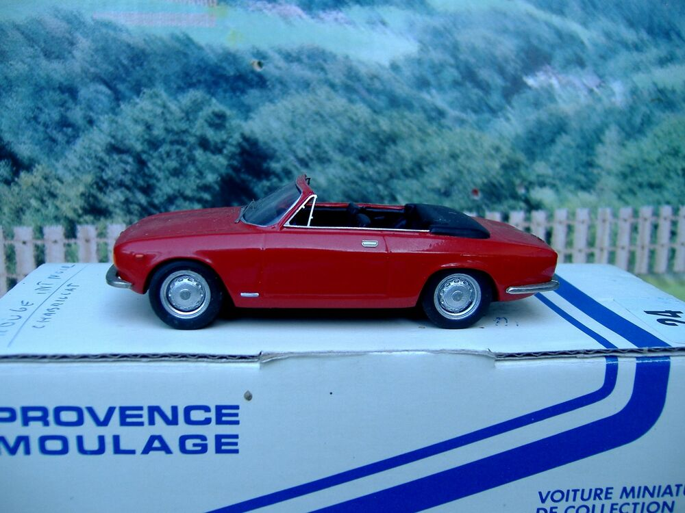 1 43 provence moulage france alfa romeo handmade resin model car ebay. Black Bedroom Furniture Sets. Home Design Ideas