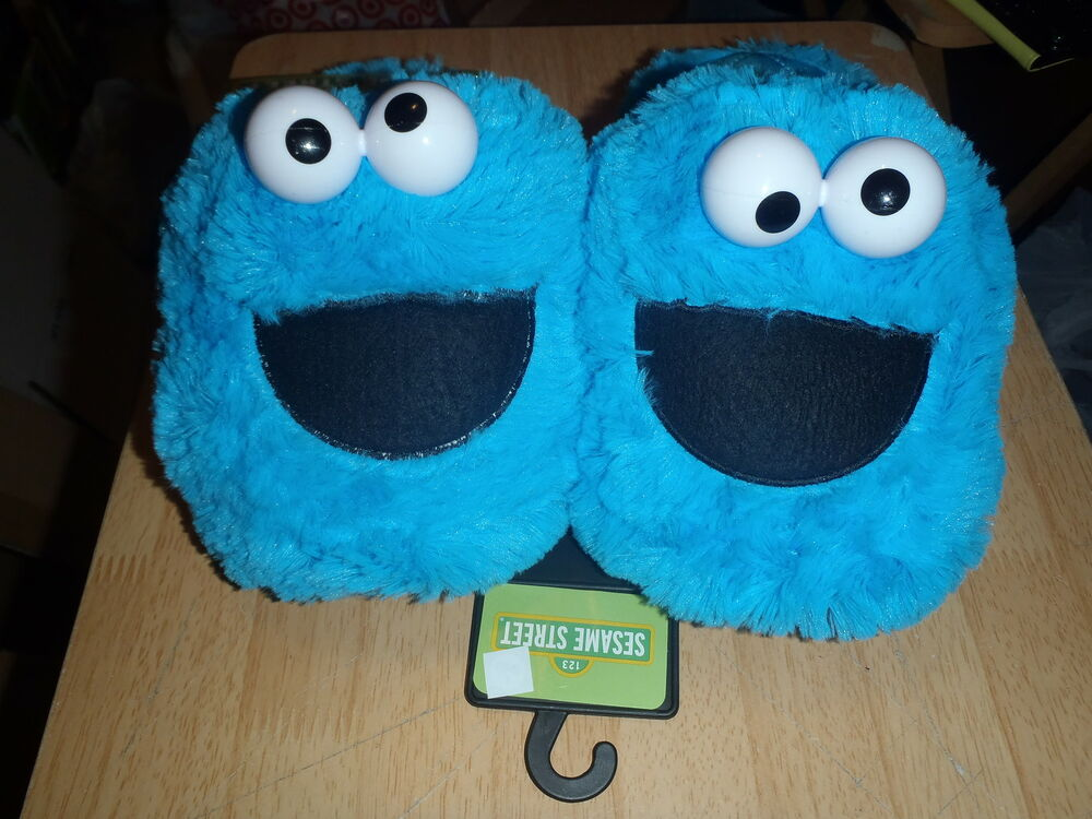adult sesame street slippers