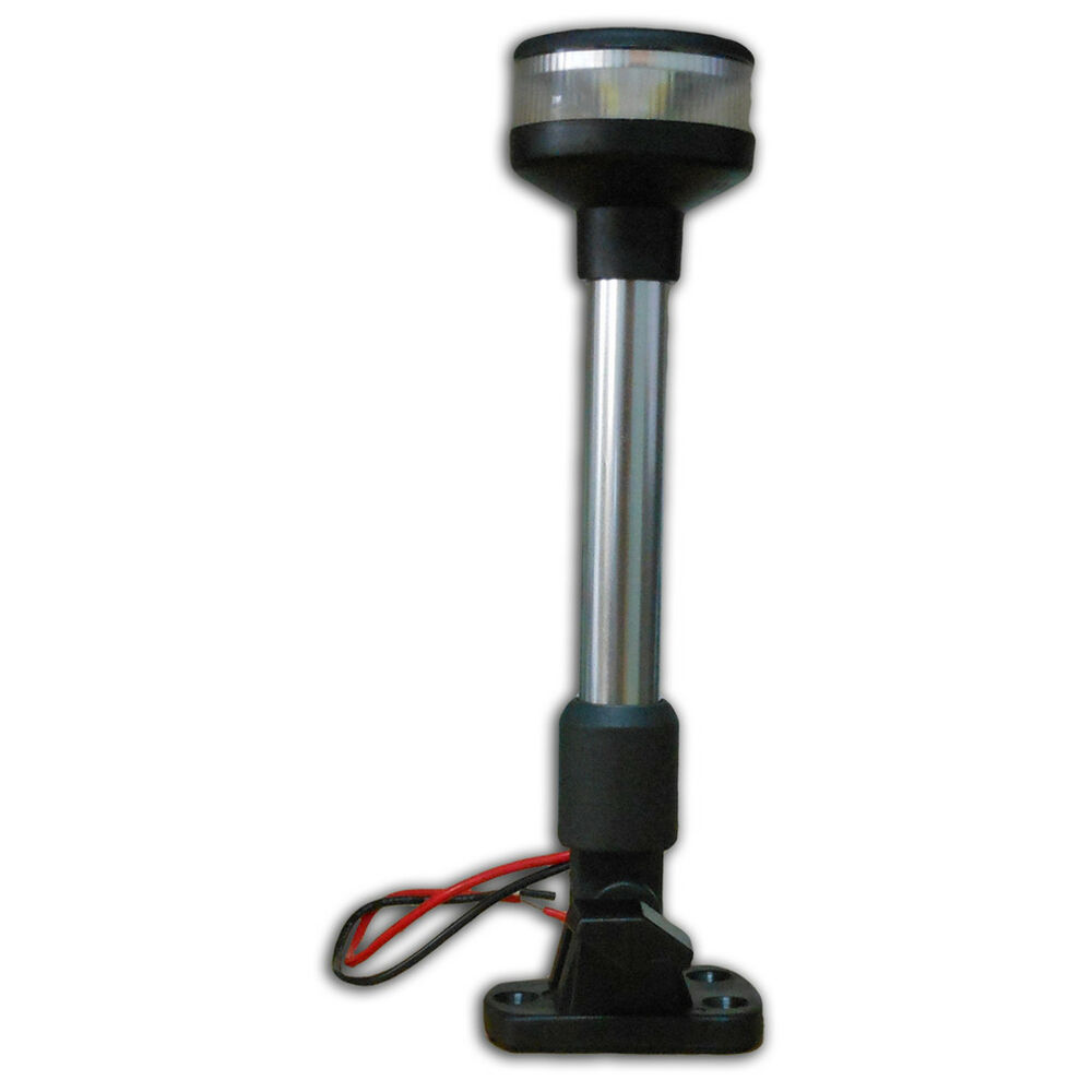 Led Boat Pole Lights: FOLDABLE ALL ROUND POLE ANCHOR LED LIGHT FOR BOAT