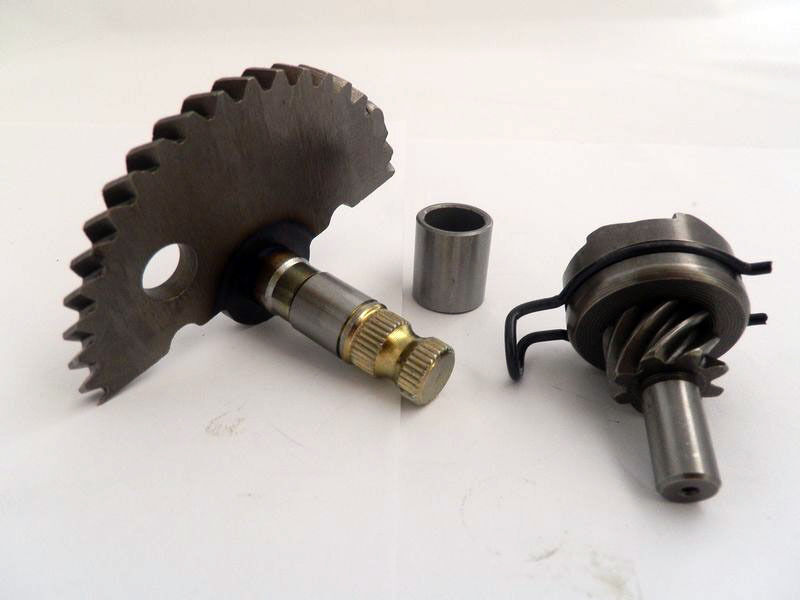 Spindle Shaft Gearbox : Cc scooter kick start gear shaft spindle taotao peace