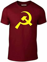 Hammer & Sickle Communist T Shirt - CCCP Communism Russian Soviet Flag T-Shirt