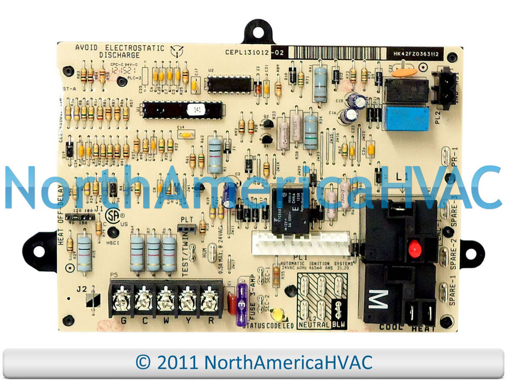 Carrier Bryant Payne Furnace Control Circuit Board