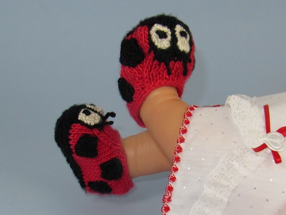 PRINTED INSTRUCTIONS -BABY LADYBIRD BOOTIES BOOTEES KNITTING PATTERN eBay