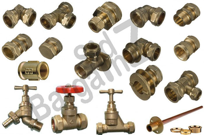 Compression brass plumbing fittings a wide range most