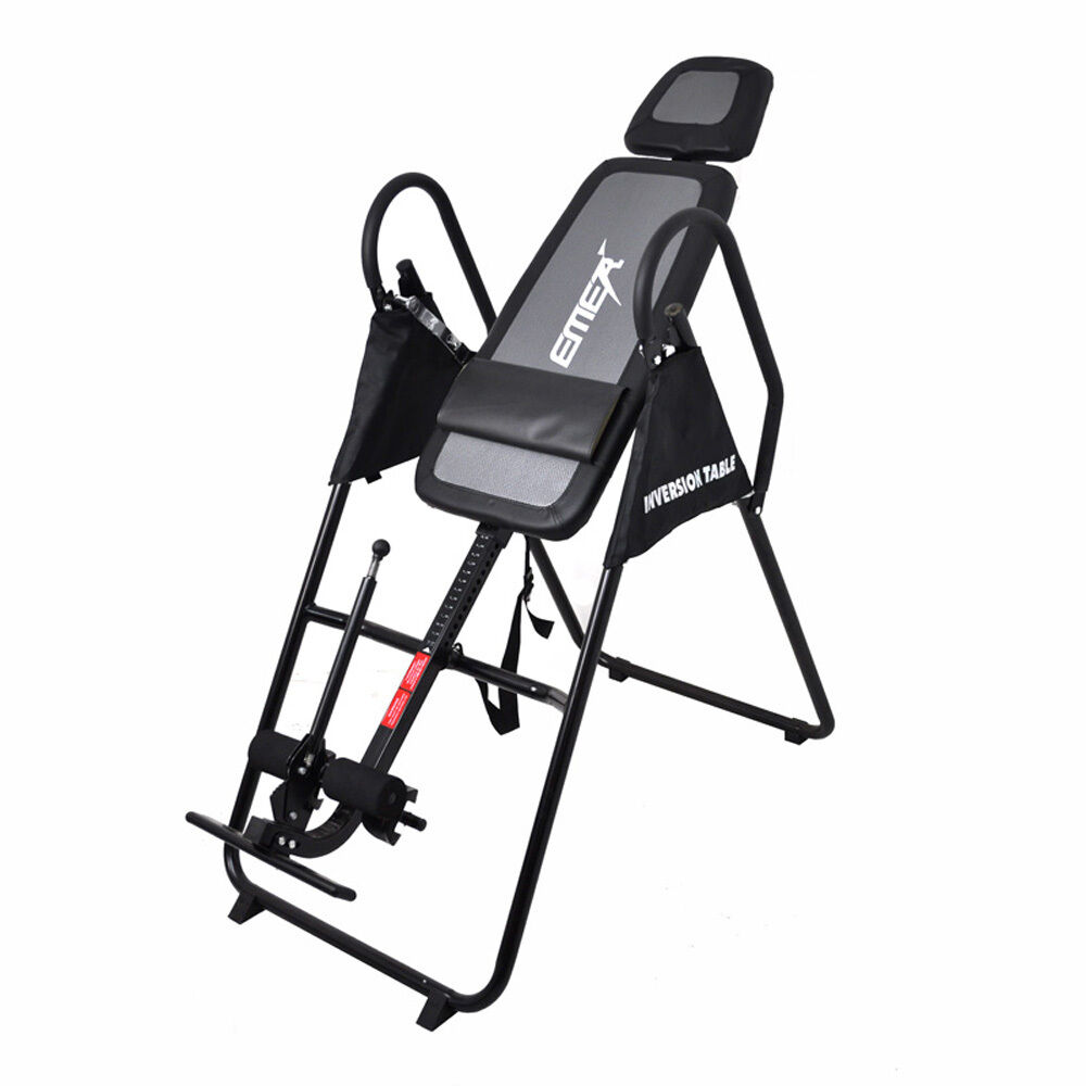 Gravity inversion table for back therapy fitness exercise for Table inversion