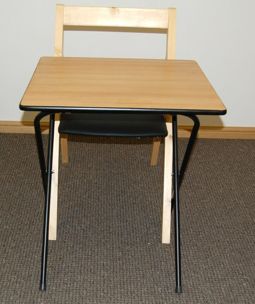 folding exam classroom table & folding chair class room desk and folding