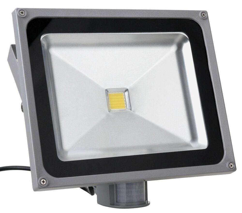 50w Floodlight Led Pir Low Energy Outdoor Flood Security