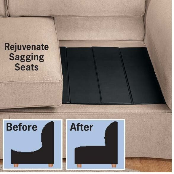 Furniture Savers Restore Firm Support To Cushions Give