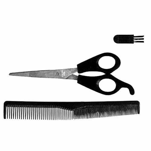 mens beard facial hair trimmer trim cutting set comb brush scissors ebay. Black Bedroom Furniture Sets. Home Design Ideas