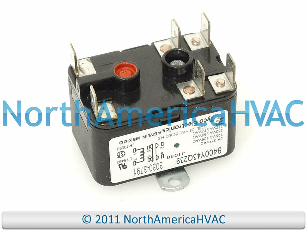 Blower Fan Relay : Oem tyco electronics york luxaire coleman furnace blower