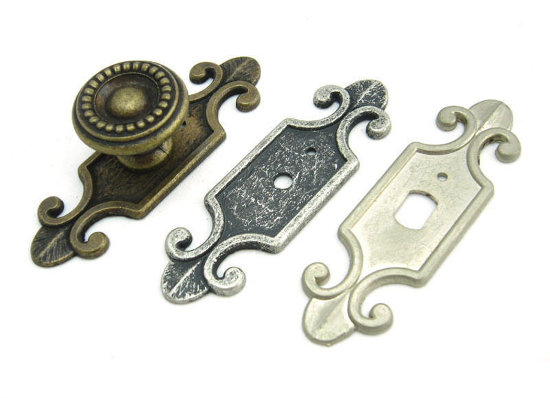 Decorative Back Plate For Cabinet Knobs Cupboard Handle