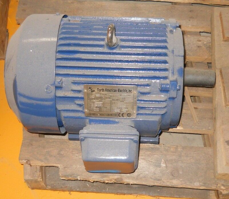 North American Electric H1805 Frame 184t 5 Hp Ac Induction