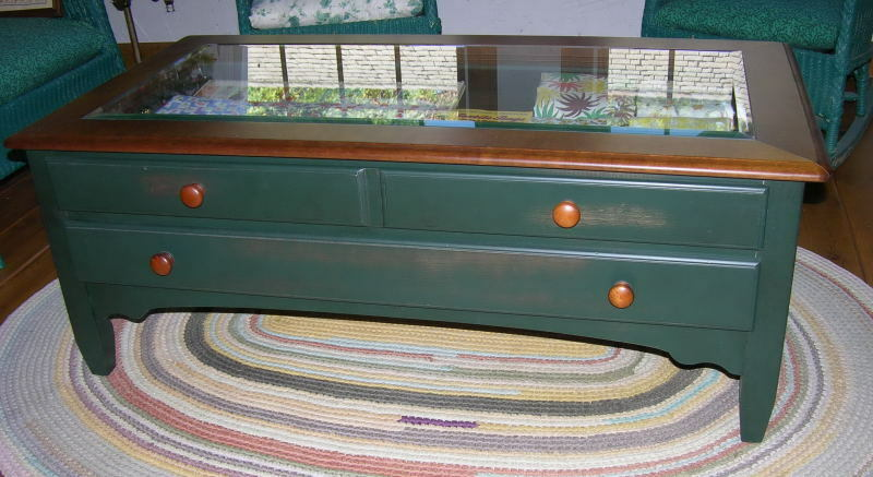 Display collectors coffee table cabinet ebay Collectors coffee table