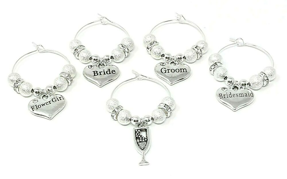 Personalised Wedding Day Favour Table Decoration Family Wine Glass ...