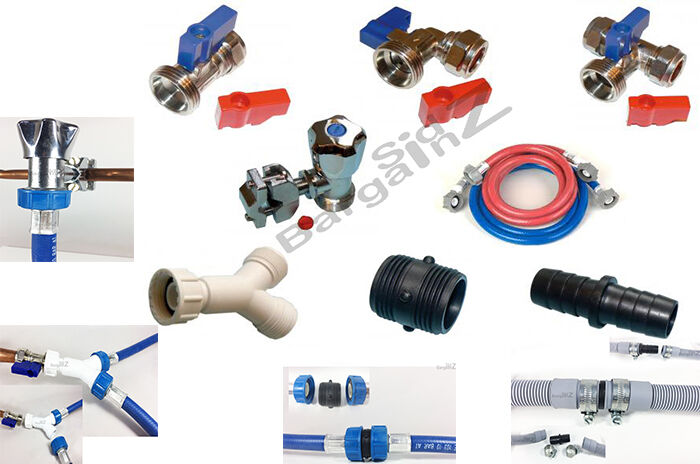 Washing Machine Connections A WIDE RANGE Of Valves, Hoses
