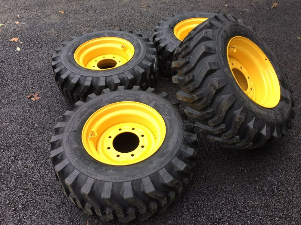 4 NEW Camso 12X16.5 Tires & Rims for New Holland, John ...