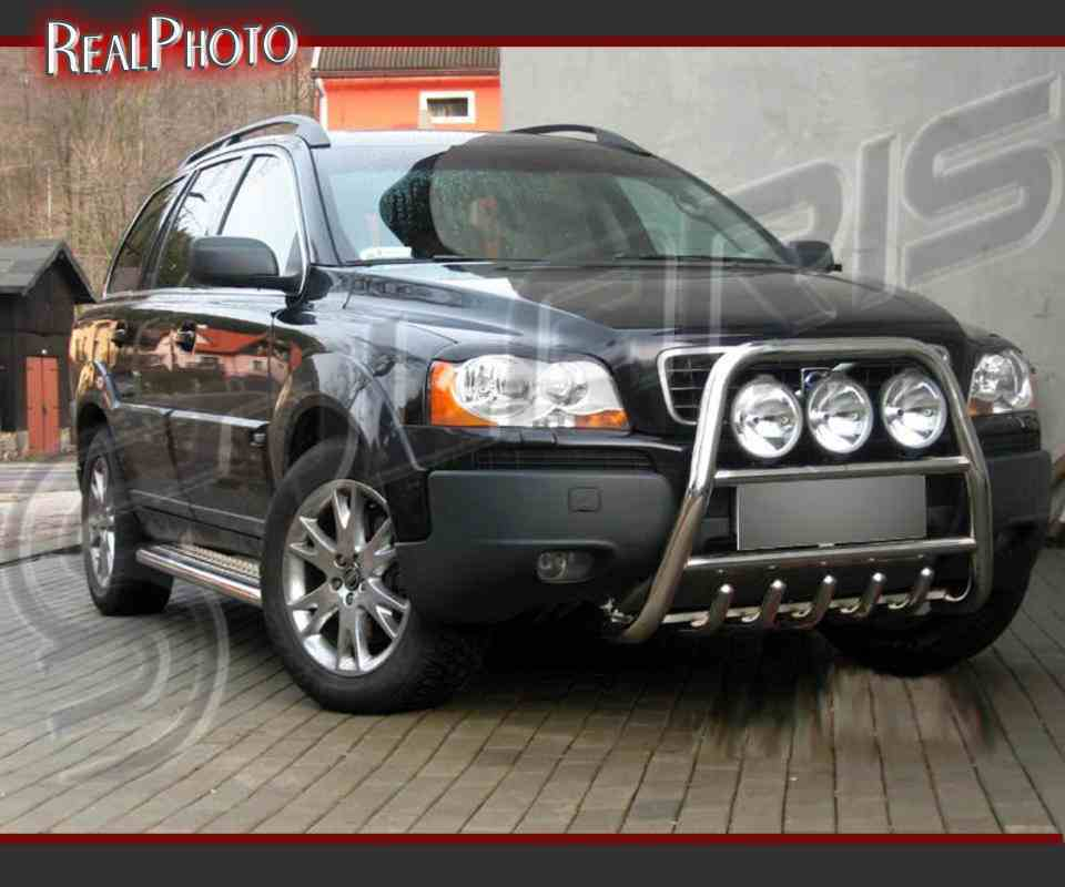 VOLVO XC90 2002-2007 HIGH BULL BAR, NUDGE BAR, A BAR