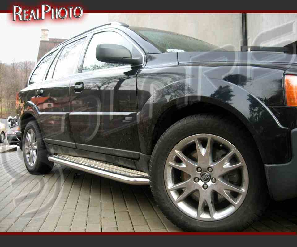VOLVO XC90 02-07 SIDE STEPS, RUNNING BOARDS + GRATIS