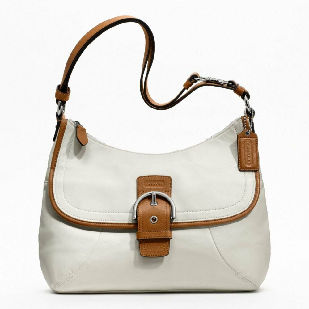 Brand New Coach Soho Leather Flap Duffle 19580 with Tags ...