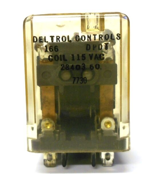 115 vac 24vac dpdt relay wiring diagram deltrol controls relay 8 pin, 166dpdt, coil 115vac ... #4