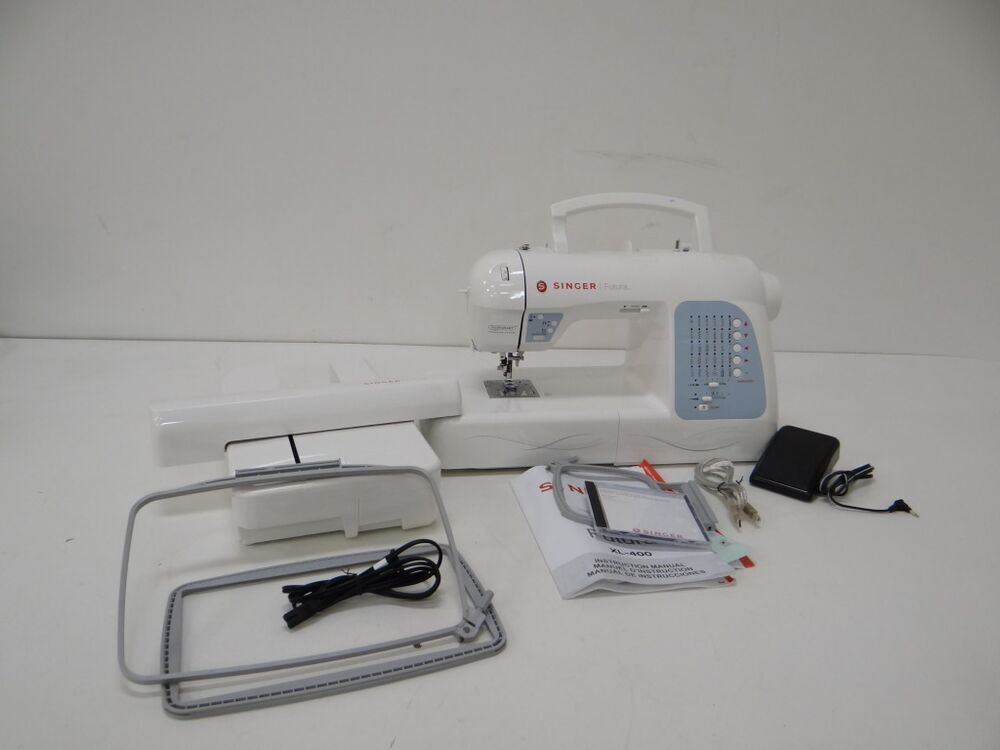 singer futura xl 400 computerized sewing and embroidery machine