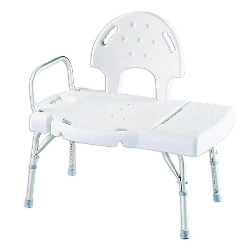 Invacare heavy duty bath tub shower chair transfer seat bench 06 inv9670u ebay Transfer bath bench