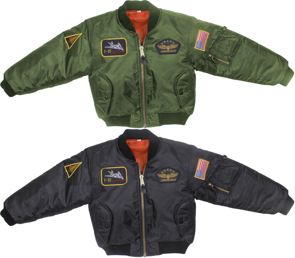 Kids Flight Jacket | eBay