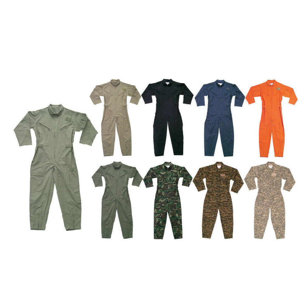 6029d54f44f Details about Military Flight Suit Camo Work Coveralls Air Force Overalls  Utility Jumpsuit