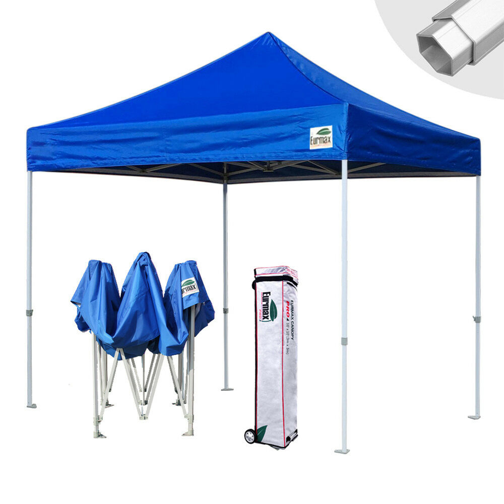 10x10 ez pop up aluminum commercial canopy instant for 10x10 craft show tent