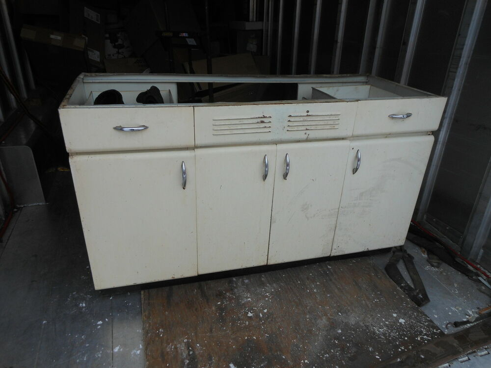made in chicago vintage all steel kitchen cabinet retro kitchen ebay