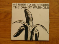 THE DANDY WARHOLS-WE USED TO BE FRIENDS-PROMO CD SINGLE