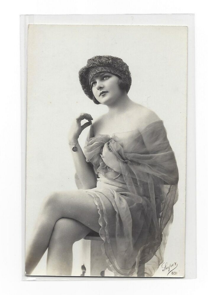 It is a photo of Effortless Vintage Risque Photos