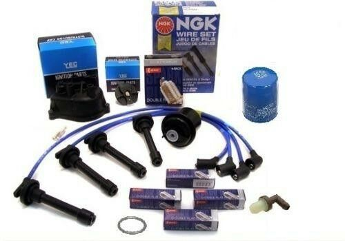 Cap-Rotor-NGK Wires-Spark Plug-Oil-PCV- Tune Up Kit Acura Integra LS RS GS   eBay