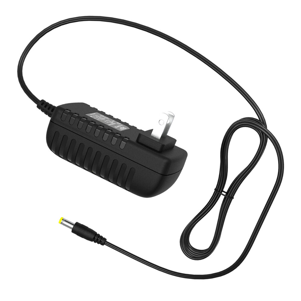 True Z5 Elliptical Power Cord: HQRP AC Adapter For Gold's Gym Power Cycle 290 Bike