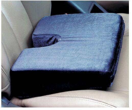 Orthopedic Designed Wedge Cushion For Car Or Office Chair Relieve Tailbone