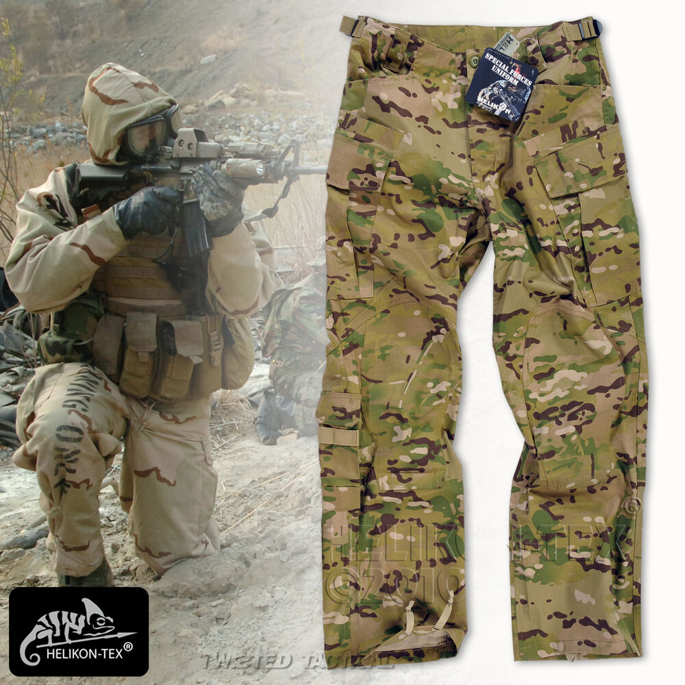 Helikon Sfu Tactical Pants Army Combat Cargo Trousers