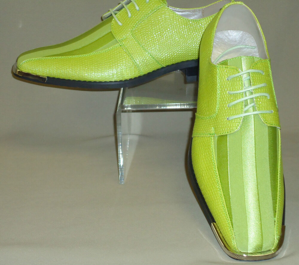 lime green shoes