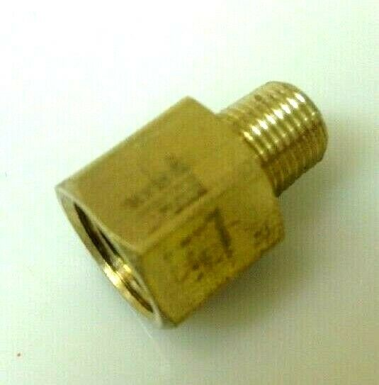 Brass pipe quot female male extender reducer