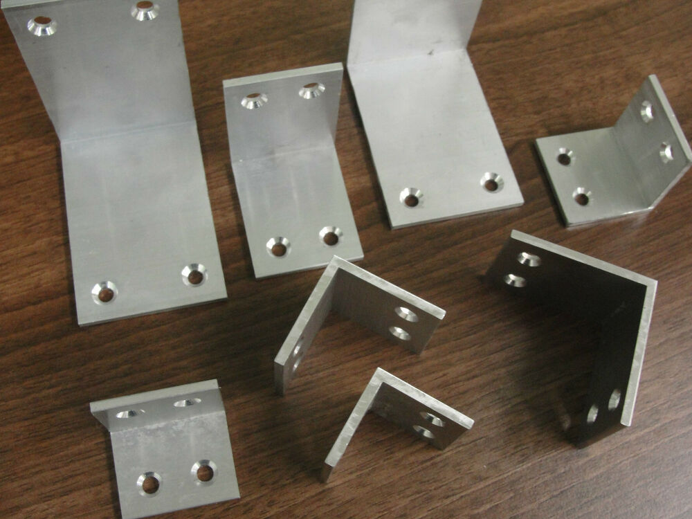 Size 63 Amp 75mm Hd Aluminium Angles Corner Braces Mending